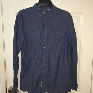 Mens Levi's Button Up Shirt
